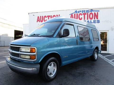 1999 Chevrolet Chevy Van For Sale In Lake Worth FL