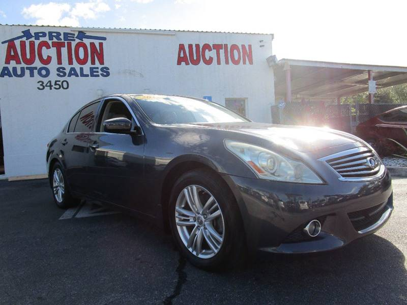 Infiniti Used Cars Financing For Sale Lake Worth Pre Auction Auto