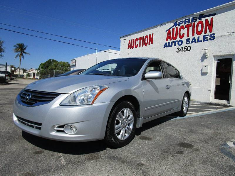 2010 Nissan Altima 2.5 S 4dr Sedan   Lake Worth FL