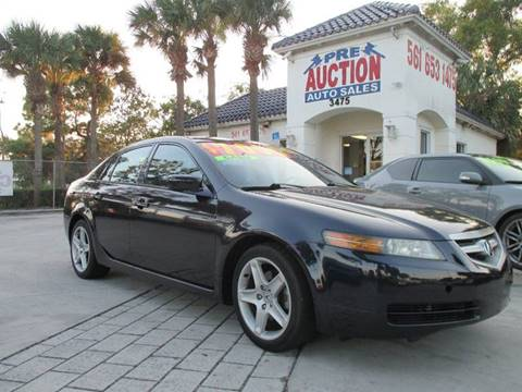 2005 Acura TL for sale in Lake Worth, FL
