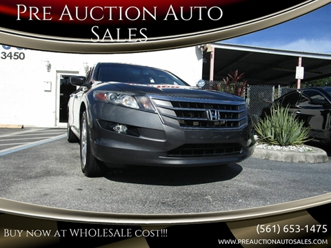 2012 Honda Crosstour for sale in Lake Worth, FL