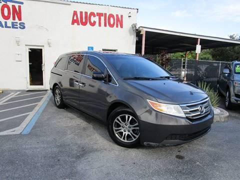 2012 Honda Odyssey for sale in Lake Worth, FL