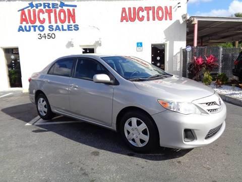 2011 Toyota Corolla for sale in Lake Worth, FL
