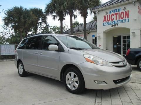 2008 Toyota Sienna for sale in Lake Worth, FL