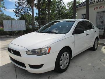 2008 Mitsubishi Lancer for sale in Lake Worth, FL