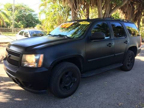 2008 Chevrolet Tahoe for sale in Lake Worth, FL