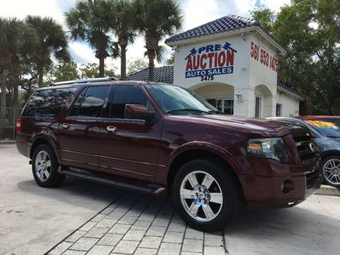 2009 Ford Expedition EL for sale in Lake Worth, FL