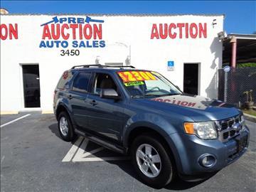 2010 Ford Escape for sale in Lake Worth, FL