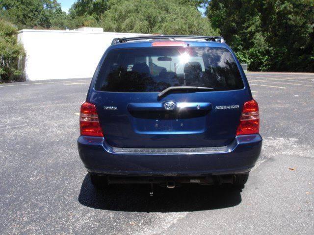 2001 Toyota Highlander 2WD 4dr SUV - Charleston SC