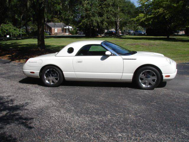 2002 Ford Thunderbird Deluxe 2dr Convertible - Charleston SC