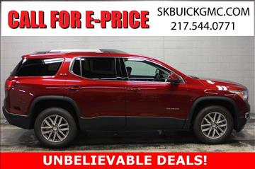 2017 GMC Acadia for sale in Springfield, IL