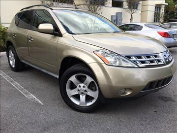2005 Nissan Murano for sale in Plantation, FL