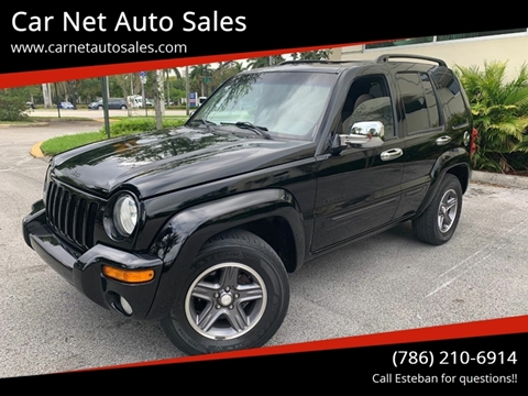 2004 Jeep Liberty for sale in Plantation, FL