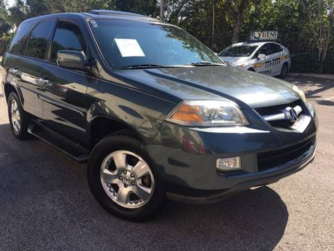 2004 Acura MDX for sale in Plantation, FL