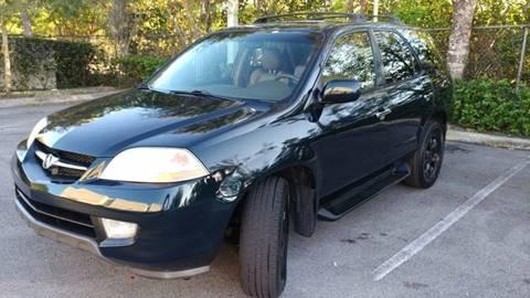 2001 Acura MDX for sale in Plantation, FL