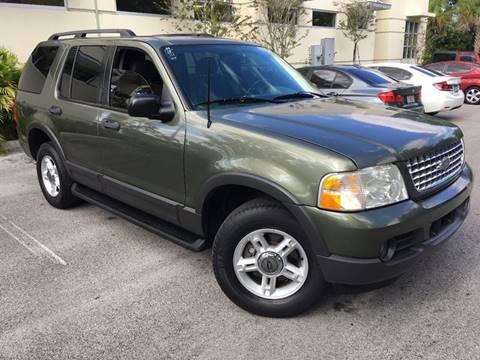 2003 Ford Explorer for sale in Plantation, FL