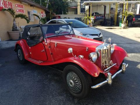 1980 MG MGTD for sale in Miami, FL