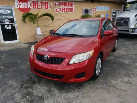 2010 Toyota Corolla for sale at VALDO AUTO SALES in Miami FL