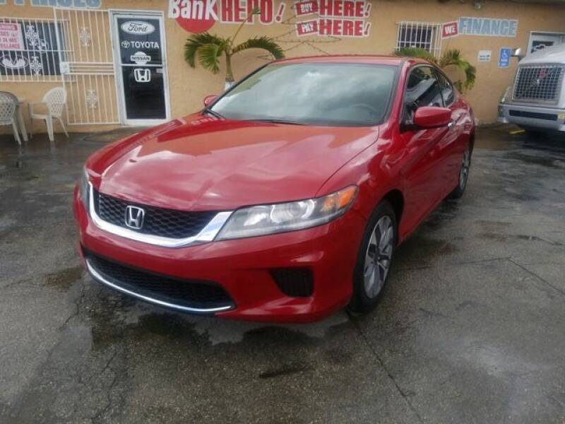2015 Honda Accord for sale at VALDO AUTO SALES in Miami FL
