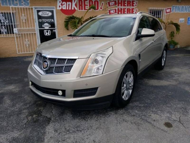 2010 Cadillac SRX for sale at VALDO AUTO SALES in Miami FL