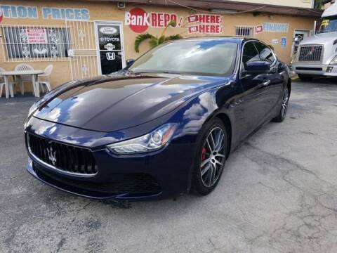 2015 Maserati Ghibli for sale at VALDO AUTO SALES in Miami FL