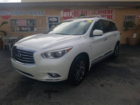 2015 Infiniti QX60 for sale at VALDO AUTO SALES in Miami FL
