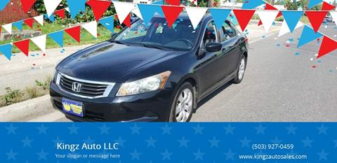 2008 Honda Accord for sale at Kingz Auto LLC in Portland OR