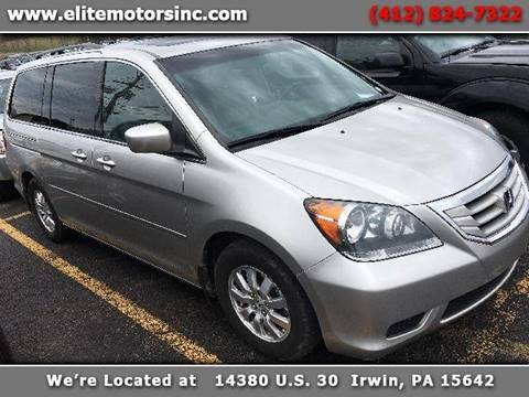 2008 Honda Odyssey for sale in Irwin, PA