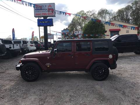 2008 Jeep Wrangler Unlimited for sale in Easley, SC