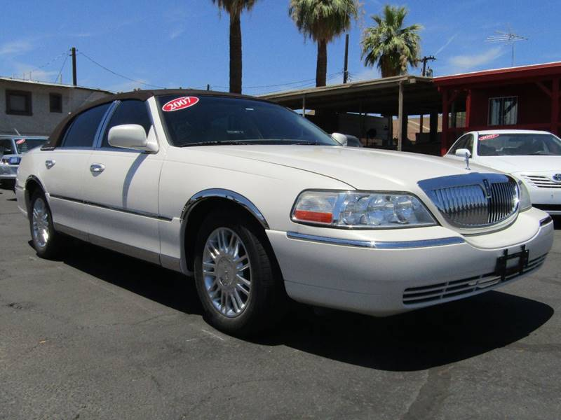 2007 Lincoln Town Car Signature Limited 4dr Sedan In Phoenix Az