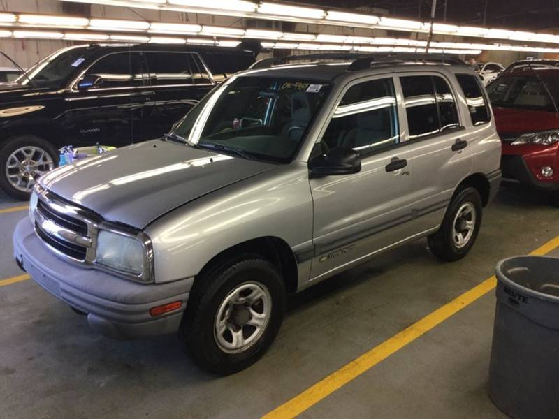 2004 Chevrolet Tracker 4WD 4dr SUV In Ithaca NY - PJ'S Auto