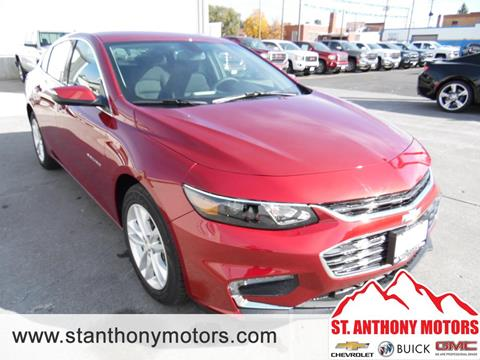 2018 Chevrolet Malibu for sale in Saint Anthony, ID