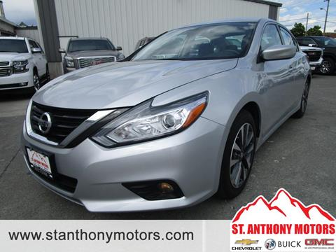 2017 Nissan Altima for sale in Saint Anthony, ID