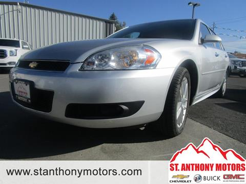 2013 Chevrolet Impala for sale in Saint Anthony, ID