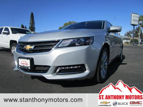 2018 Chevrolet Impala for sale in Saint Anthony, ID