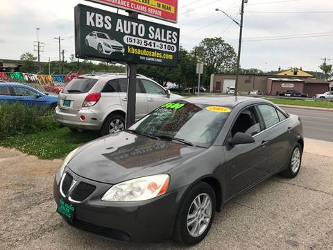 2005 Pontiac G6 for sale at KBS Auto Sales in Cincinnati OH