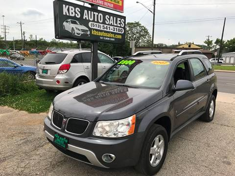 2007 Pontiac Torrent for sale at KBS Auto Sales in Cincinnati OH