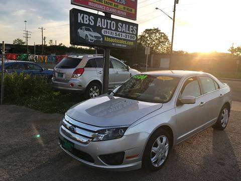 2011 Ford Fusion for sale at KBS Auto Sales in Cincinnati OH