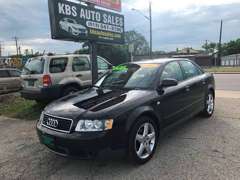 2004 Audi A4 for sale at KBS Auto Sales in Cincinnati OH