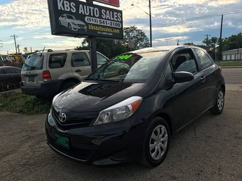 2012 Toyota Yaris for sale at KBS Auto Sales in Cincinnati OH