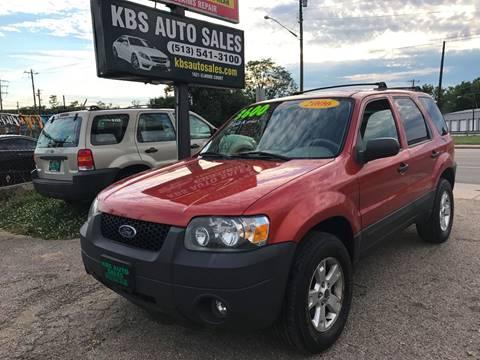 2006 Ford Escape for sale at KBS Auto Sales in Cincinnati OH
