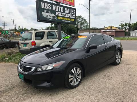 2008 Honda Accord for sale at KBS Auto Sales in Cincinnati OH