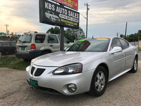 2005 Pontiac Grand Prix for sale at KBS Auto Sales in Cincinnati OH