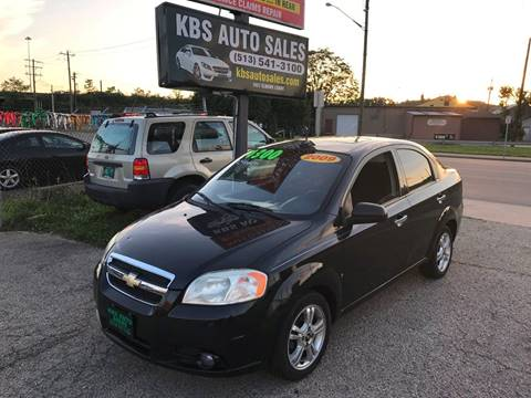 2009 Chevrolet Aveo for sale at KBS Auto Sales in Cincinnati OH