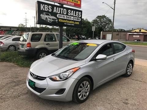 2011 Hyundai Elantra for sale at KBS Auto Sales in Cincinnati OH