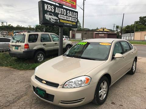2008 Chevrolet Impala for sale at KBS Auto Sales in Cincinnati OH