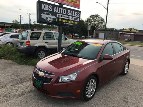 2012 Chevrolet Cruze for sale at KBS Auto Sales in Cincinnati OH