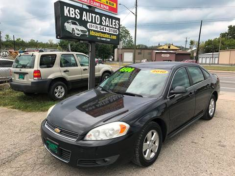 2010 Chevrolet Impala for sale at KBS Auto Sales in Cincinnati OH