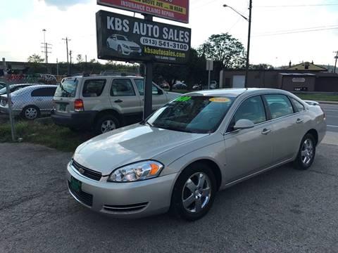 2008 Chevrolet Impala for sale at KBS Auto Sales in Cincinnati OH