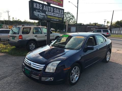 2006 Ford Fusion for sale at KBS Auto Sales in Cincinnati OH